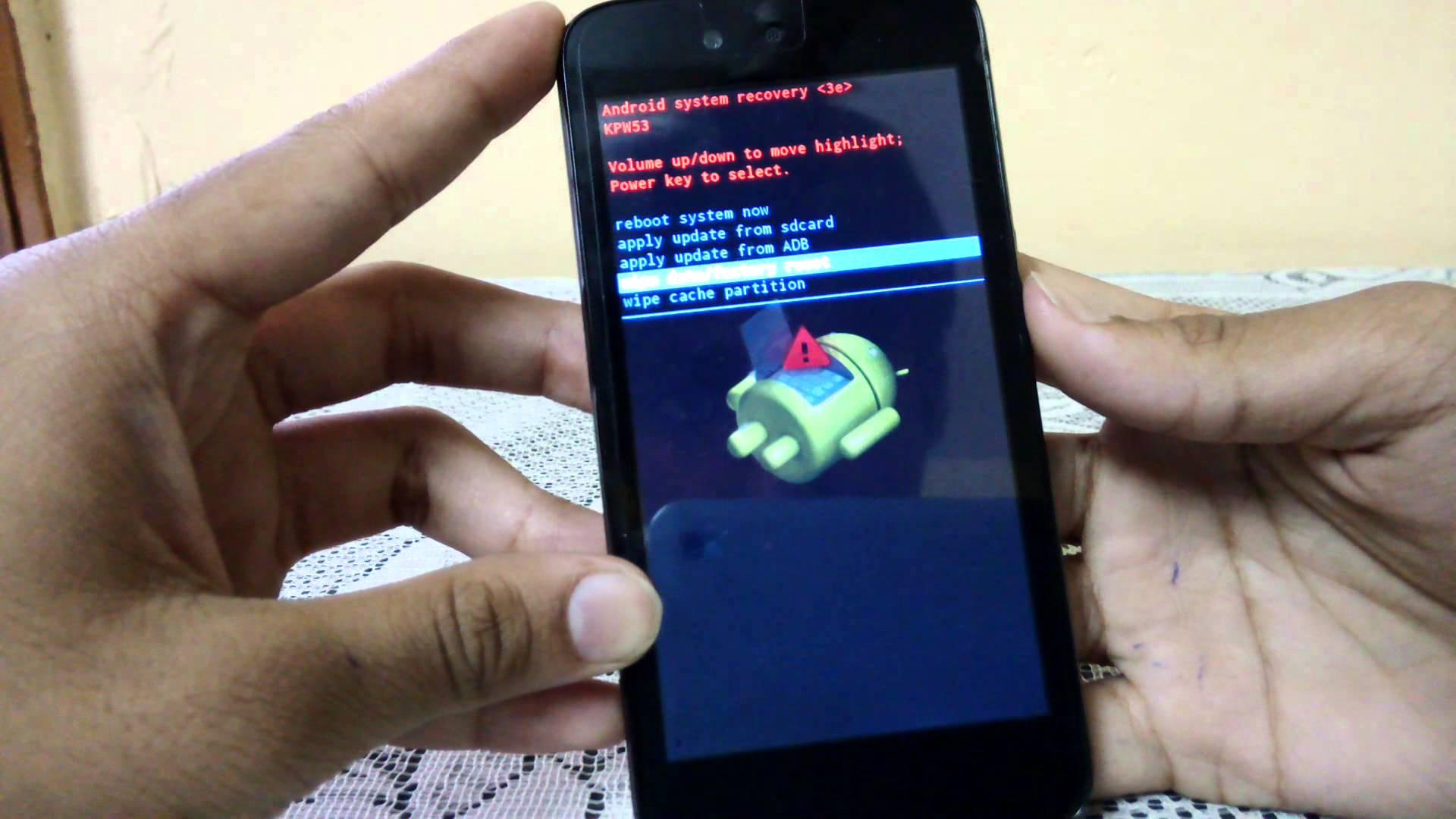 cara mengatasi android yang bootloop